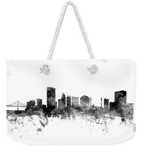 Toledo Ohio Skyline Weekender Tote Bag