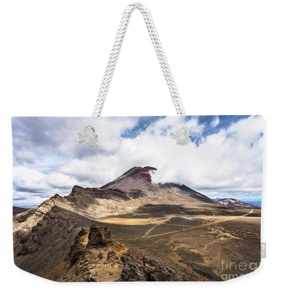 Tongariro Alpine Crossing In New Zealand Weekender Tote Bag