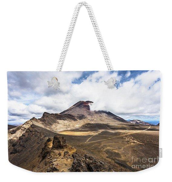 Tongariro Alpine Crossing In New Zealand Weekender Tote Bag