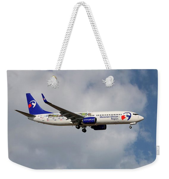 Travel Service Boeing 737-8cx Weekender Tote Bag
