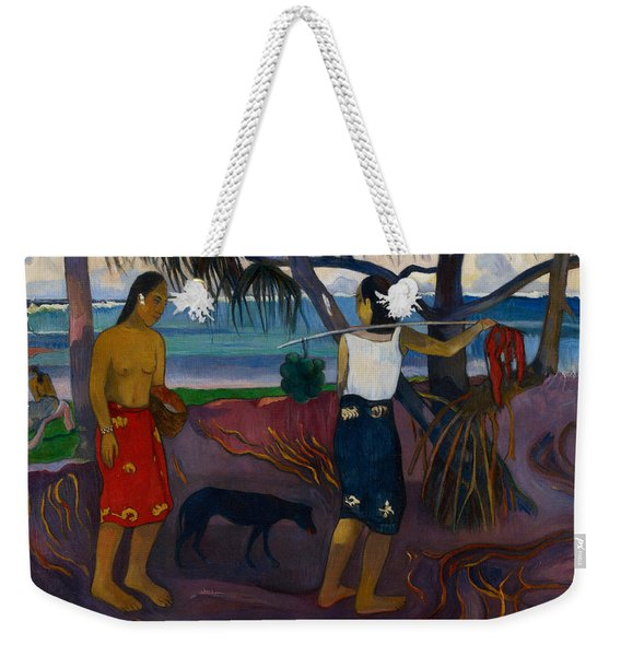 Under The Pandanus II Weekender Tote Bag