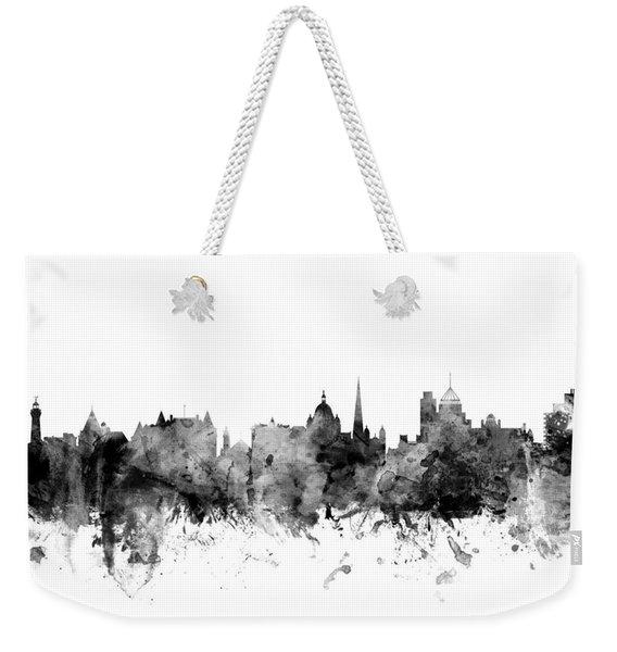 Victoria Canada Skyline Weekender Tote Bag