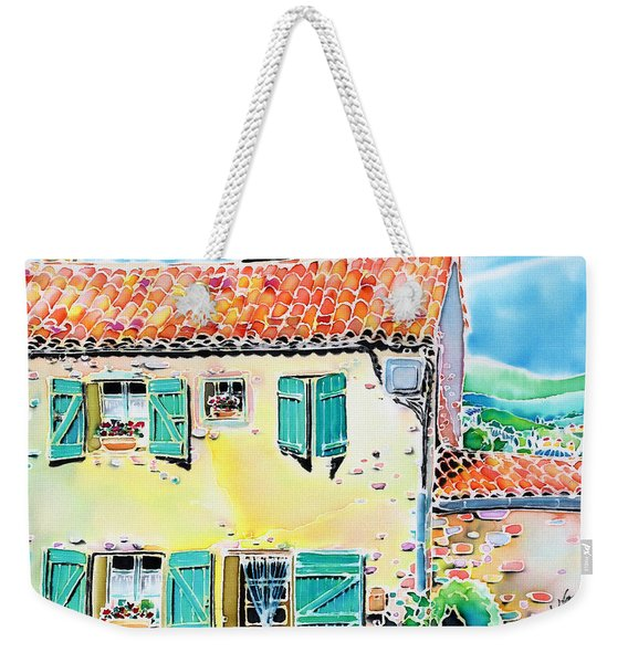 View Of Luberon Weekender Tote Bag