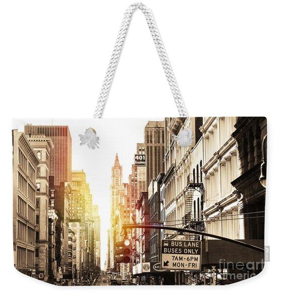 401 Broadway Weekender Tote Bag