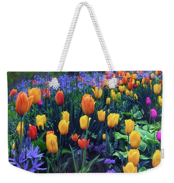 Procession Of Tulips Weekender Tote Bag