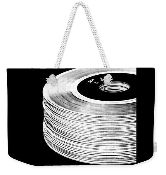 45 Records Tee Weekender Tote Bag