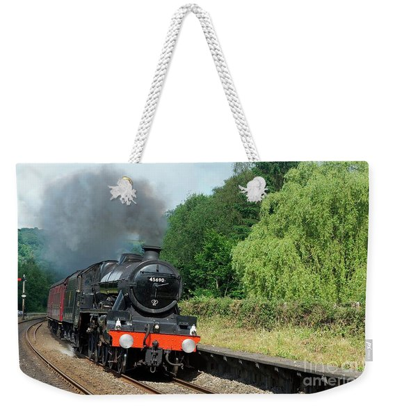 45690 Leander At Grindleford Weekender Tote Bag