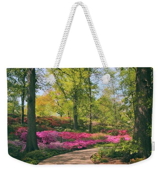 Azalea Promenade Weekender Tote Bag