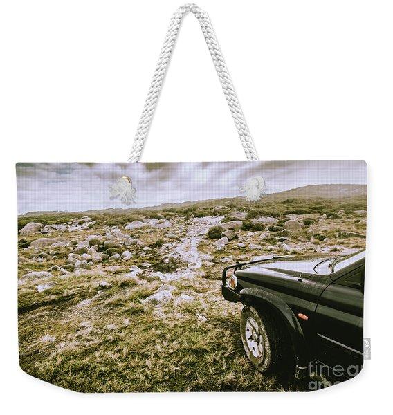4wd On Offroad Track Weekender Tote Bag