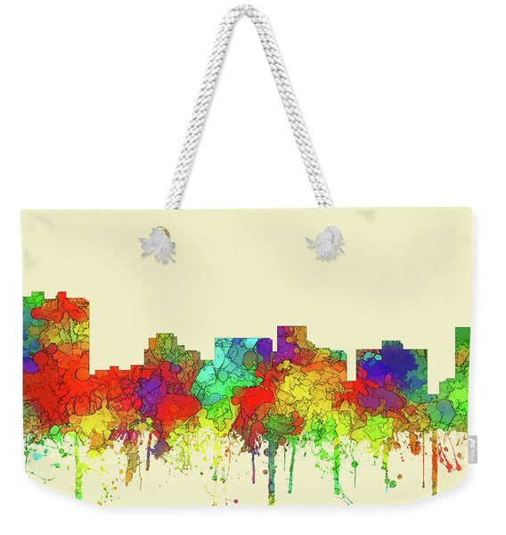 Arlington Texas Skyline Weekender Tote Bag