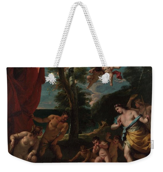 Bacchus And Ariadne Weekender Tote Bag