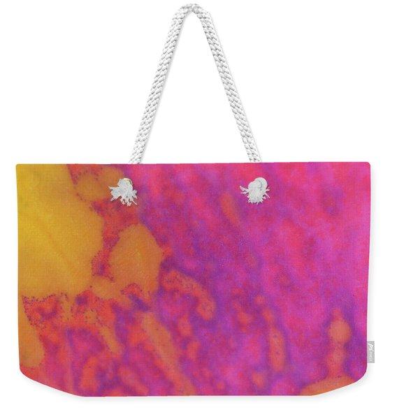 Color Transformation Of Rose Petal Weekender Tote Bag