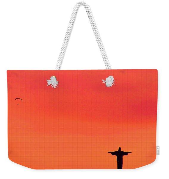 Cristo Redentor Weekender Tote Bag