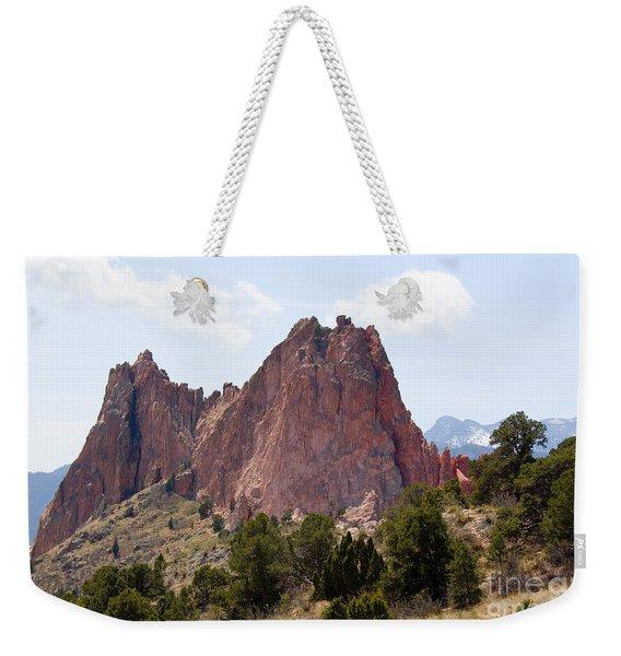 Dakota Trail At Garden Of The Gods Weekender Tote Bag