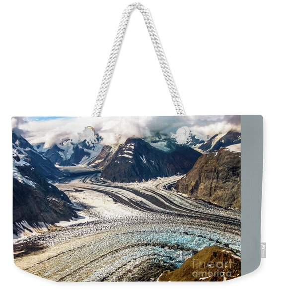 Weekender Tote Bag featuring the photograph Denali National Park by Benny Marty