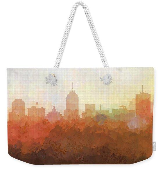 Fresno California Skyline Weekender Tote Bag