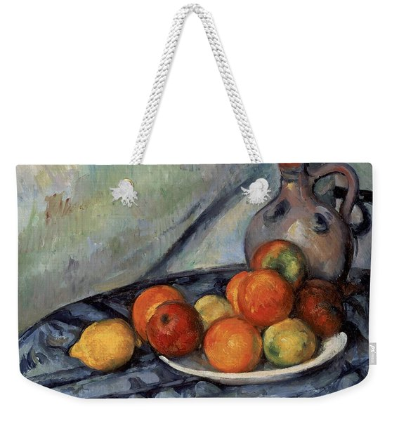Fruit And A Jug On A Table Weekender Tote Bag
