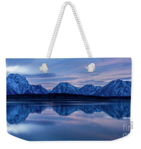 Grand Teton National Park Weekender Tote Bag