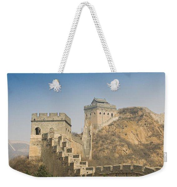 Great Wall Of China - Jinshanling Weekender Tote Bag