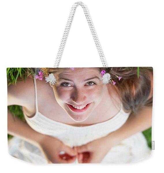 Mckenna Senior Portrait Weekender Tote Bag