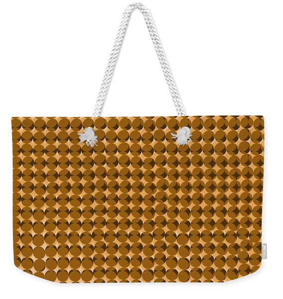 Pi Approximate Packing Of Circles Weekender Tote Bag