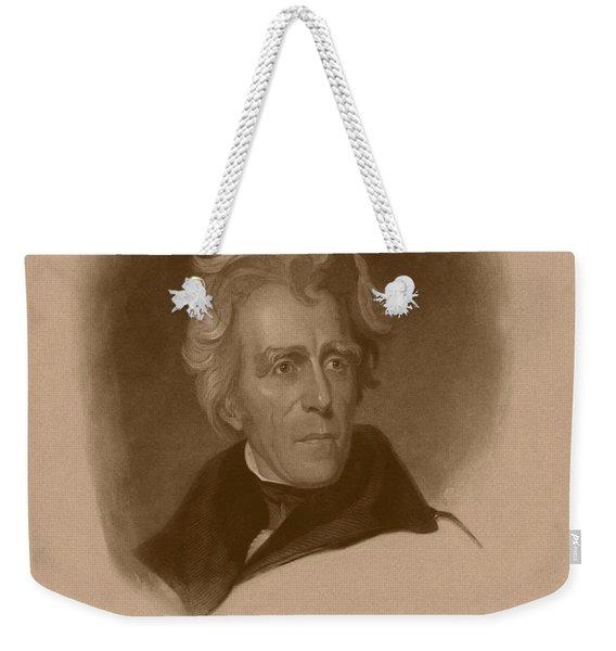 President Andrew Jackson Weekender Tote Bag