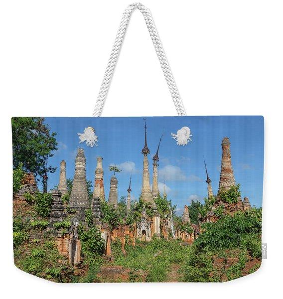 Shwe Indein Pagoda - Myanmar Weekender Tote Bag