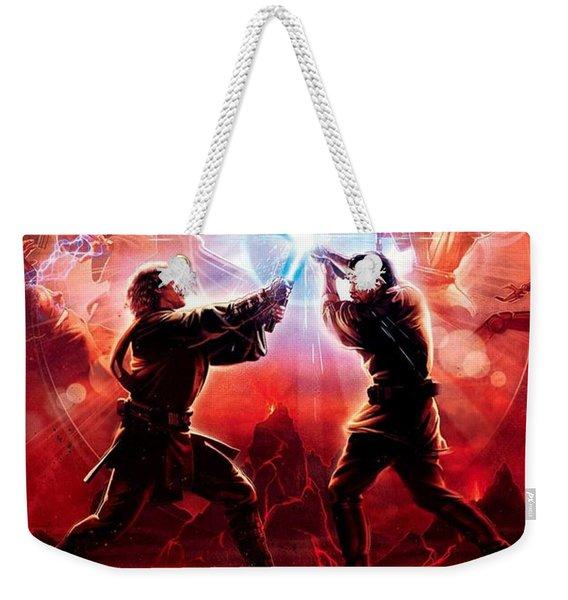 Star Wars Episode IIi - Revenge Of The Sith 2005 Weekender Tote Bag