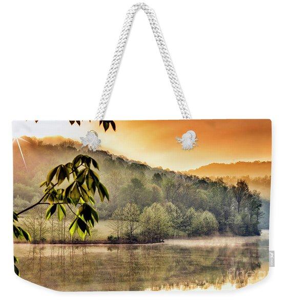 Stonewall Resort Sunrise Weekender Tote Bag