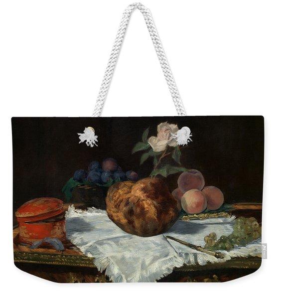 The Brioche Weekender Tote Bag