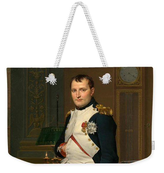The Emperor Napoleon In His Study At The Tuileries Weekender Tote Bag