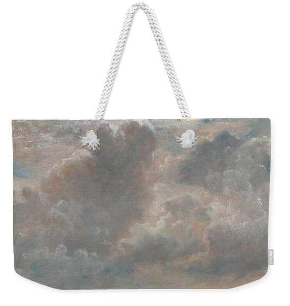 Title Cloud Study Weekender Tote Bag