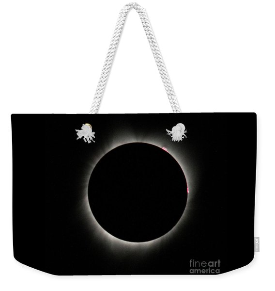Total Solar Eclipse Weekender Tote Bag