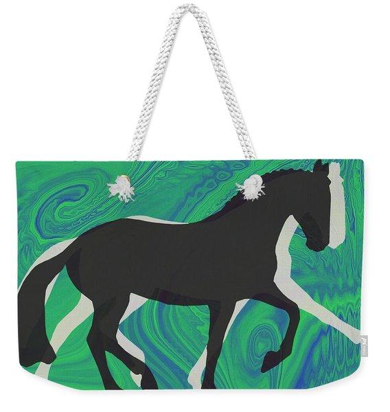 Up The Levels Art Weekender Tote Bag