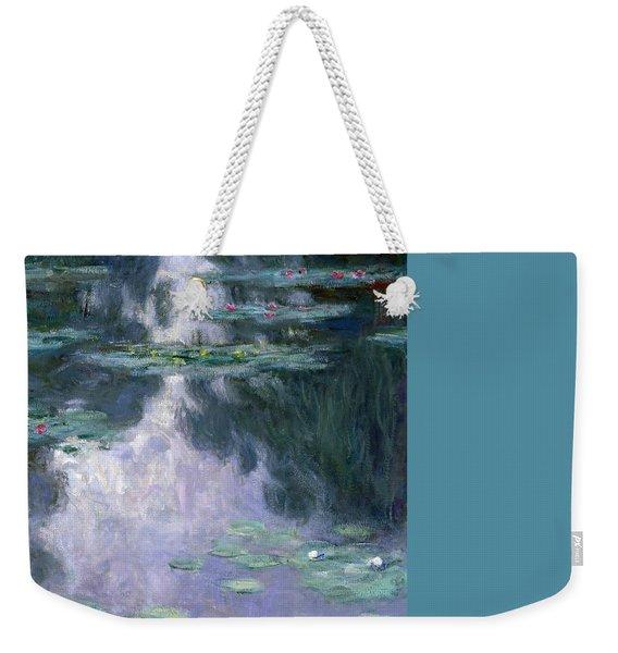 Waterlilies Weekender Tote Bag