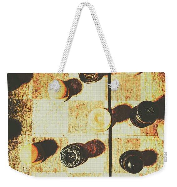 50 Shades Of Good And Evil Weekender Tote Bag