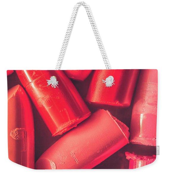 50 Shades Of Pink Weekender Tote Bag