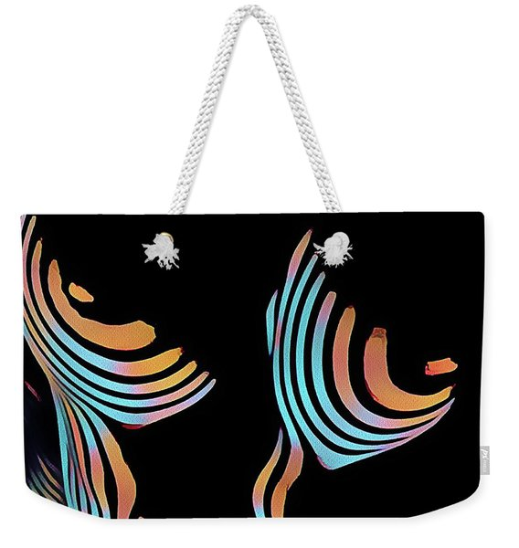 5126s-mak Large Breasts Ribs Abstract View Rendered In Composition Style Weekender Tote Bag
