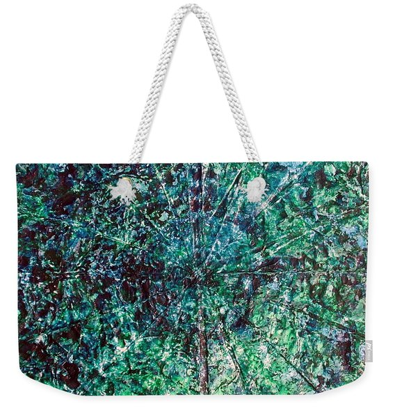 52-offspring While I Was On The Path To Perfection 52 Weekender Tote Bag