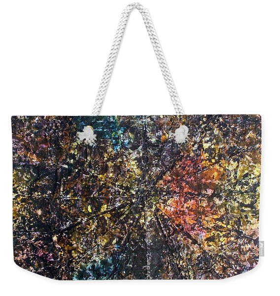 55-offspring While I Was On The Path To Perfection 55 Weekender Tote Bag