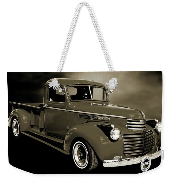 5514.04 1946 Gmc Pickup Truck Weekender Tote Bag