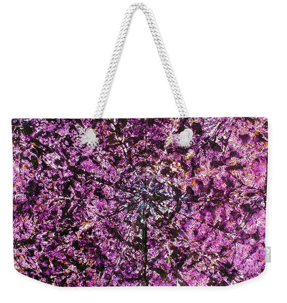 56-offspring While I Was On The Path To Perfection 56 Weekender Tote Bag