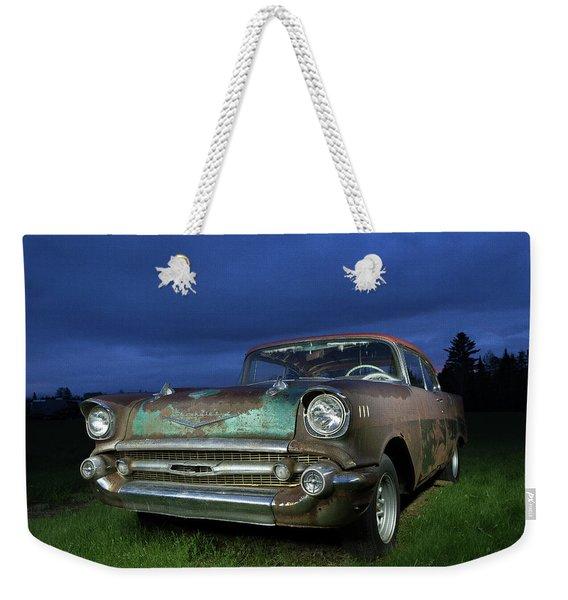 57' Chevrolet Weekender Tote Bag
