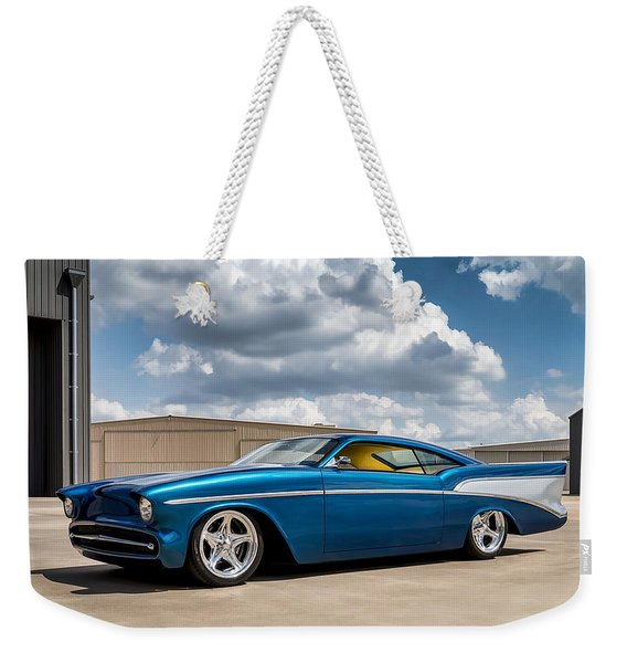 '57 Chevy Custom Weekender Tote Bag