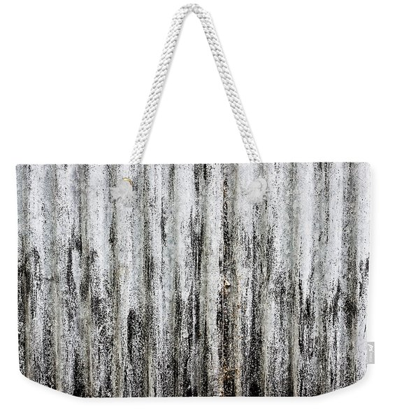 Corrugated Metal Weekender Tote Bag