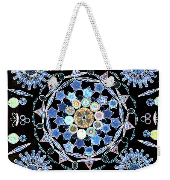 Diatoms Weekender Tote Bag