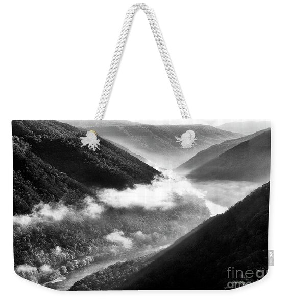 Grandview New River Gorge Weekender Tote Bag