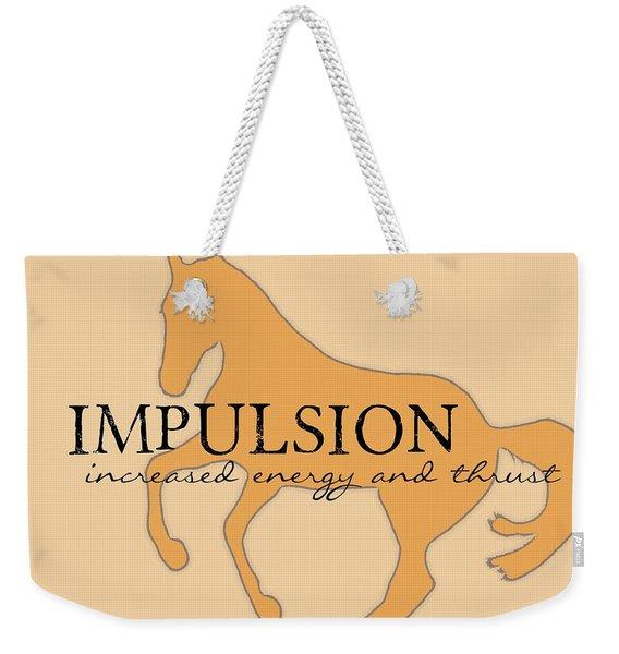 Impulsion Weekender Tote Bag
