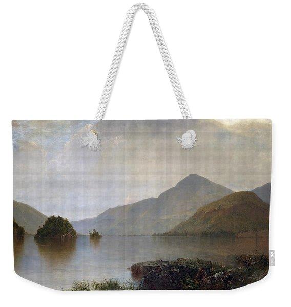 Lake George Weekender Tote Bag