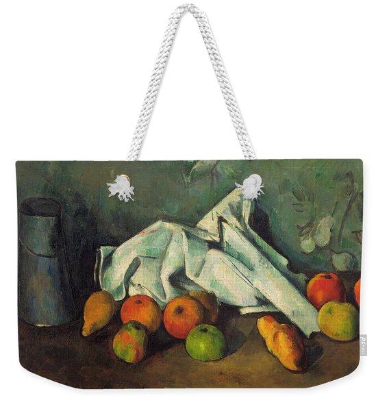 Milk Can And Apples Weekender Tote Bag